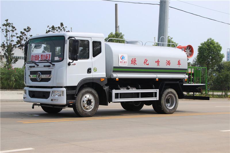东风D9 12方绿化喷洒车